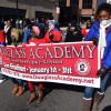 Douglass Academy Marches in Martin Luther King's Honor