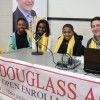 The Big Talker Visits Douglass for School Choice Week!