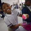 Douglass Academy Celebrates Good Behavior with Cupcake Party!