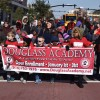 Douglass Academy Marches in Honor of Martin Luther King